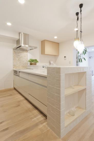 憧れのおしゃれな対面キッチン 住宅リフォーム キッチンデザイン