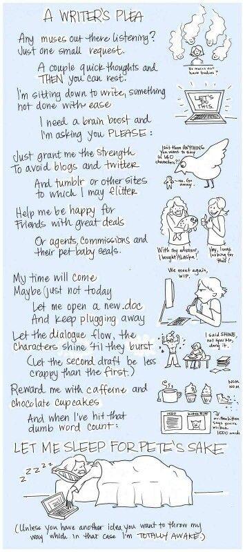 A writer's plea #writinghumor http://writersrelief.com/