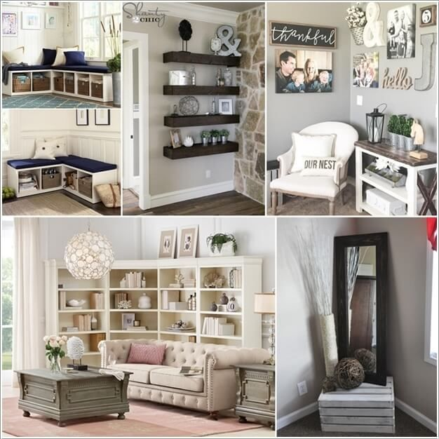 Corners In Rooms Are Usually Overlooked But They Can Be Great Spaces To Decorate And Utilize Either Y Living Room Corner Decor Corner Decor Living Room Corner