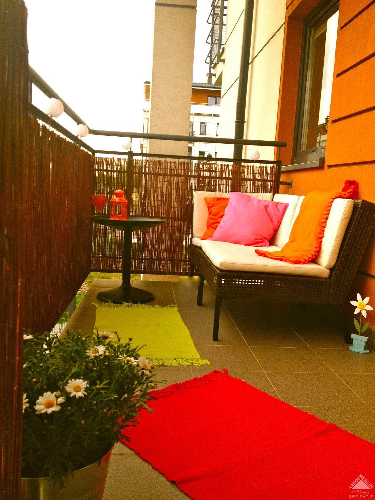 Maly Balkon Ogrod Wasze Wnetrza Leroy Merlin Outdoor Sofa Decor Outdoor Decor
