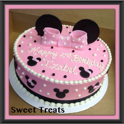 Sweet Treats by Jennifer Yeomans Christy LLC Minnie Mouse Birthday