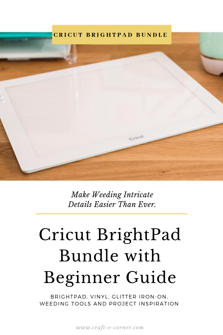 The Cricut Brightpad Illuminates Projects For Easier Crafting And Reduced Eye Strain Weeding Intricate Details Is Now Easier Cricut Brightpad Cricut Tool Kit