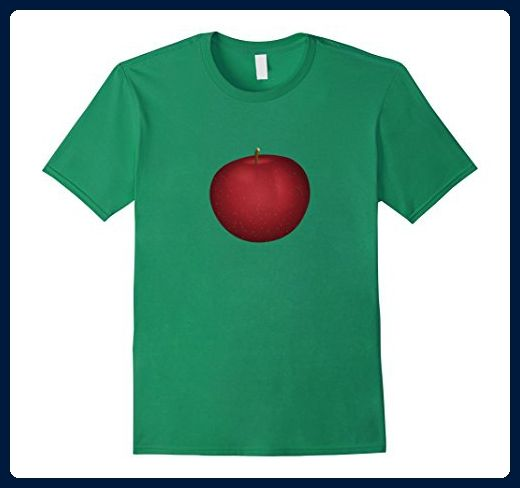 Mens Red Apple Juicy Fruit Food Shirt XL Kelly Green - Food and drink shirts (*Amazon Partner-Link)