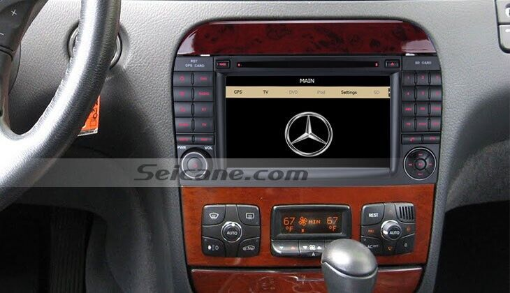 Cheap GPS Navigation System Radio For Mercedes Benz S Class
