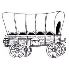 May 16 A Wagon Train Heads For Oregon Covered Wagon Toy Train Wagon