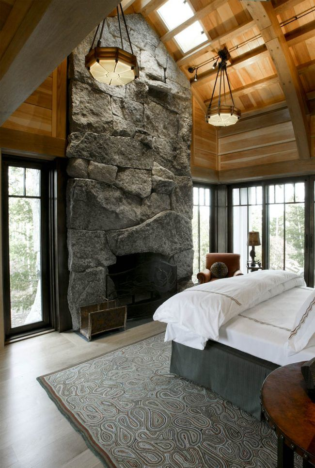 Fireplace And Chimney Custom Stone Fireplace Stone Fireplace