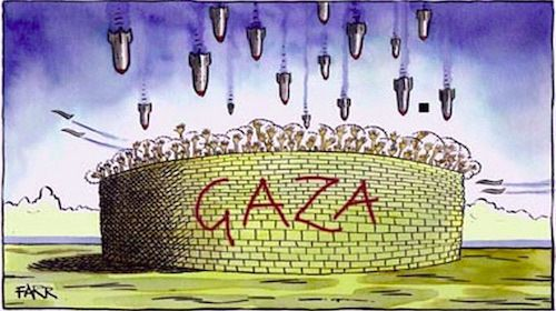 Jonathan Cook argues that the Palestinians' humanitarian needs and their right in international law to resist their oppressor are being sacrificed to make the enforcement of Israel's occupation mor...