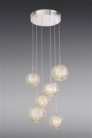 the latest ebddd 29704 Buy Oriana 6 Light Cluster Pendant from the Next UK online ...