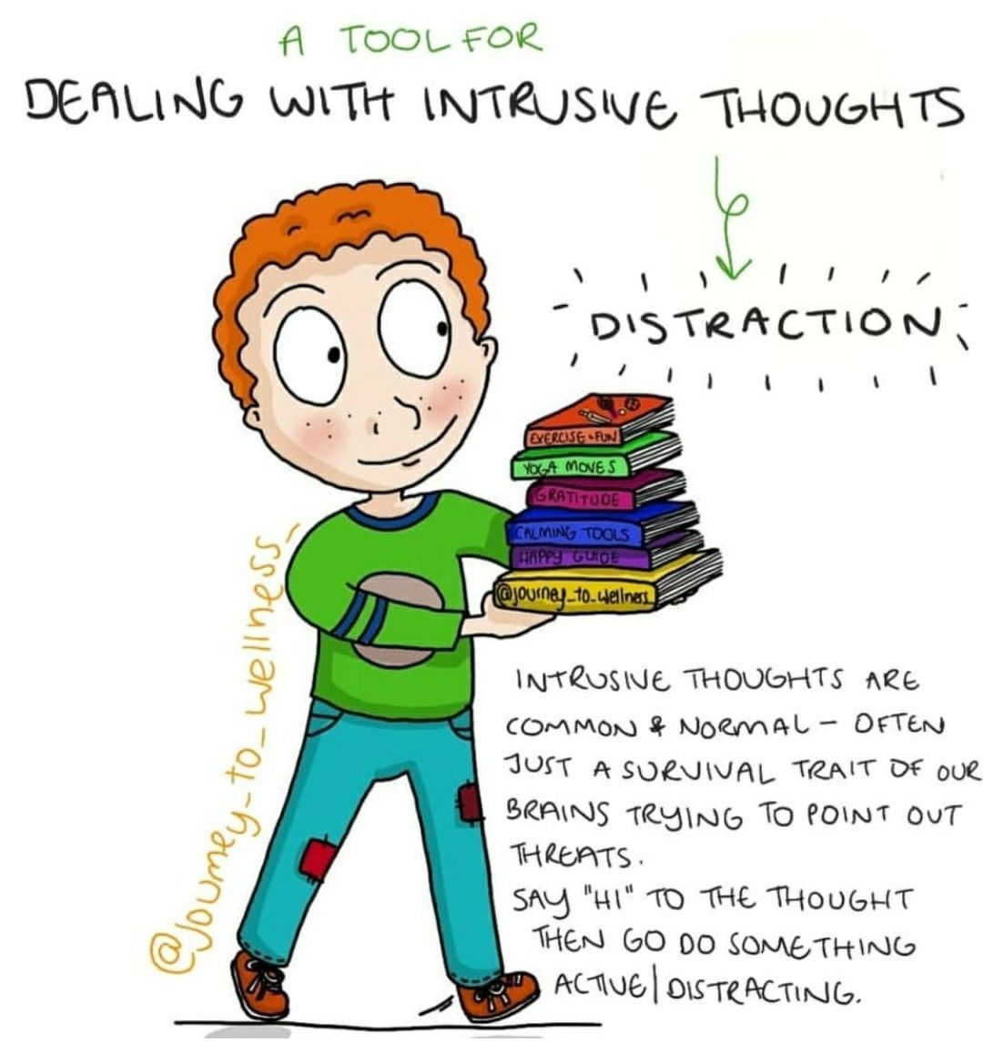 Dealing With Intrusive Thoughts Is Simply Acknowledging