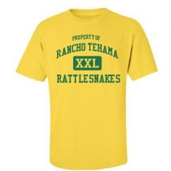 Rancho Tehama Elementary School - Corning, CA | Men's T-Shirts Start at $21.97