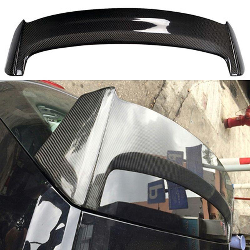carbon fiber rear roof trunk spoiler wing for volkswagen