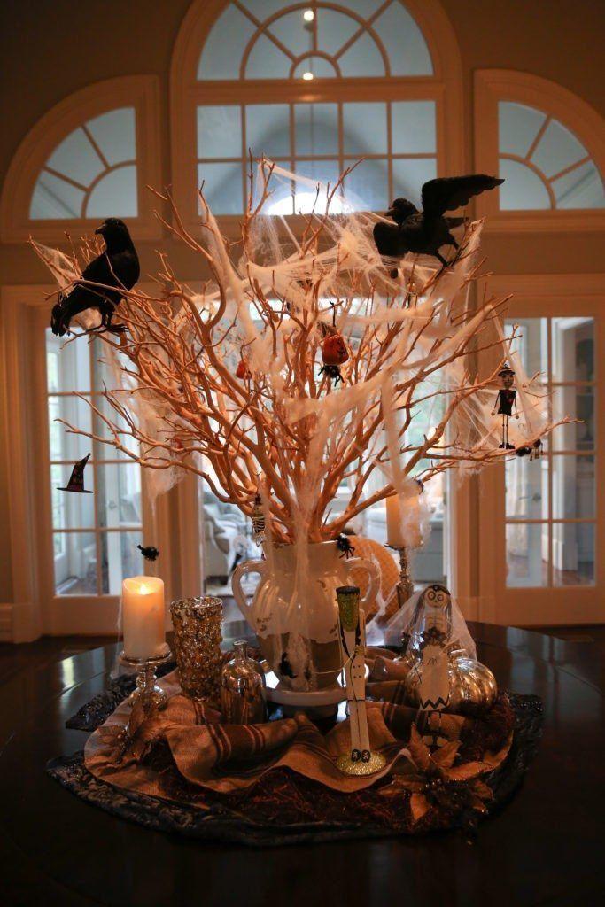 Halloween Decor Home Tour for Interior and Exterior