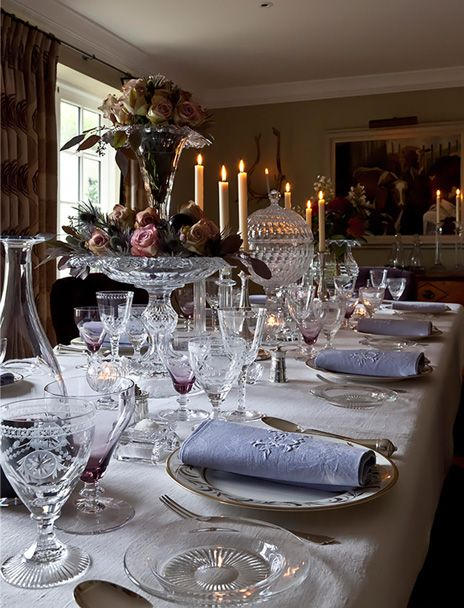 Crystal Glass   Cut Crystal   William Yeoward - Traditional Style - Gracious Entertaining Love, Love, Love this crystal