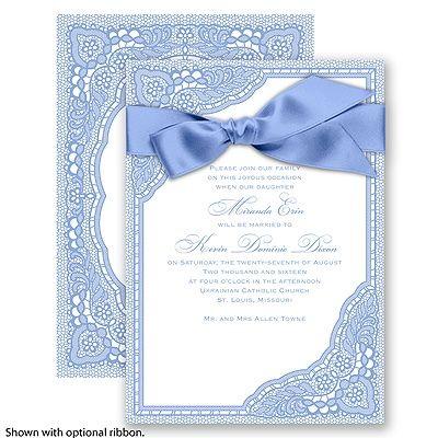 vintage romance bluebird invitation shelley and justin s