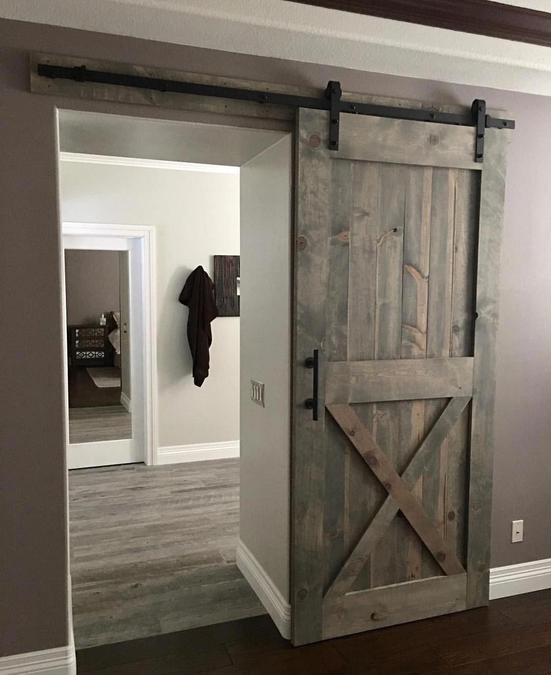 . Barn Door   Solid Wood Internal Doors   Interior Sliding Door