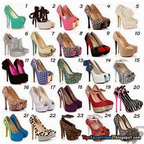 trend model sepatu high heels terbaru 2017