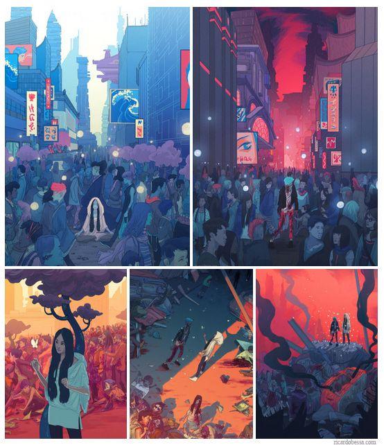Ricardo Bessa - Illustration - The Zombie Apocalypse as Mindfulness Manifesto