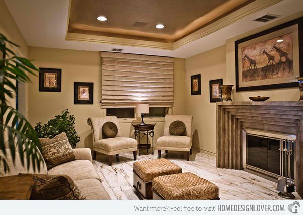 African Living Room Designs Beauteous 17 Awesome African Living Room Decor  African Living Rooms Room Decorating Design