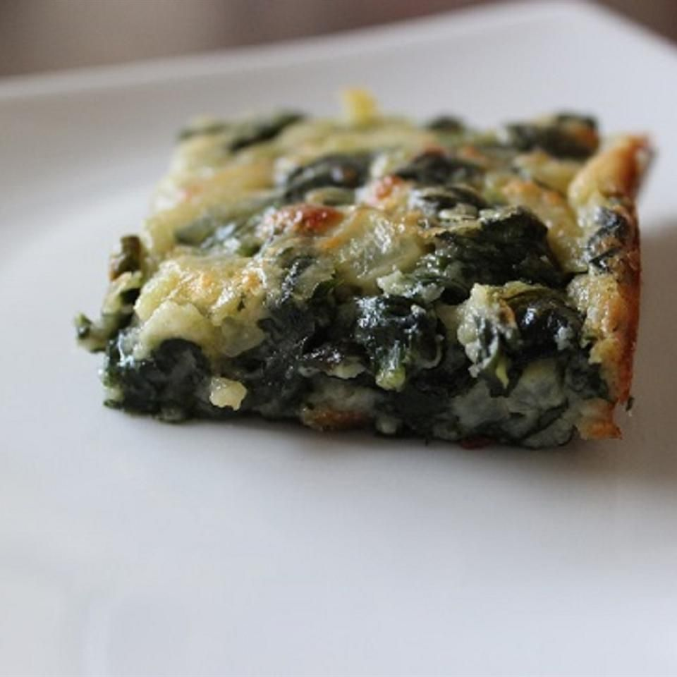 Spinach Slice Recipe Spinach brownies, Food recipes