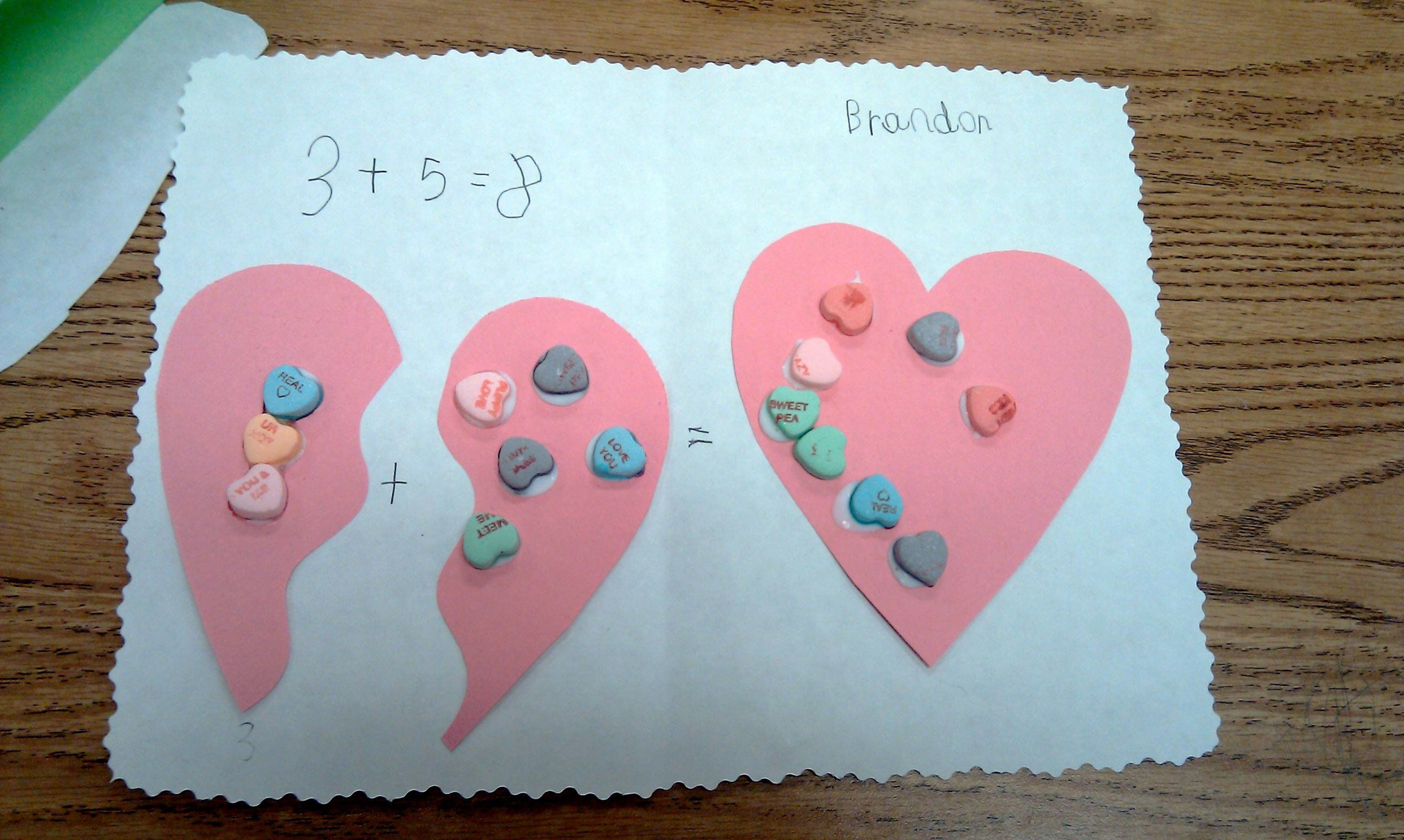 Candy Heart Addition