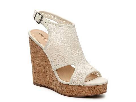$60 Lucky Brand Raynelle Wedge Sandal - $60 Lucky Brand Raynelle Wedge Sandal Teacher Clothes