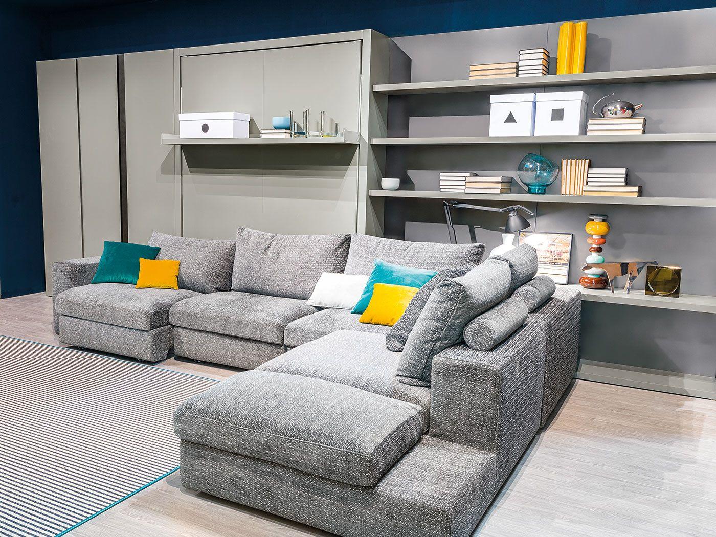 Tango,il sistema trasformabile composto da divano componibile ...