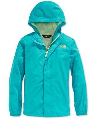 527f8d7163e6e The North Face Girls  or Little Girls  Zipline Rain Jacket