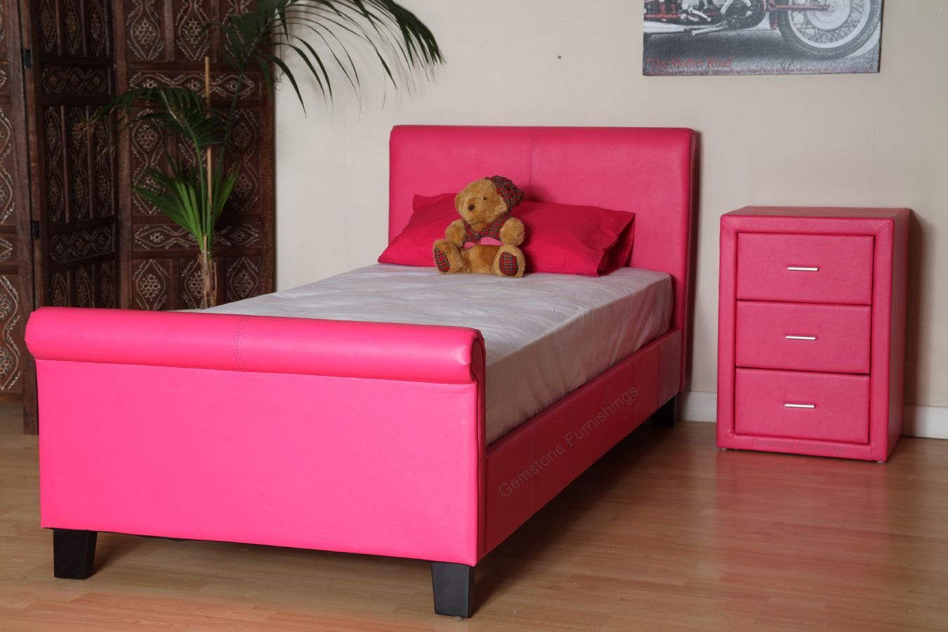 beautiful pink bed frame designs collection for girls room stunning armaan 4ft small double pink