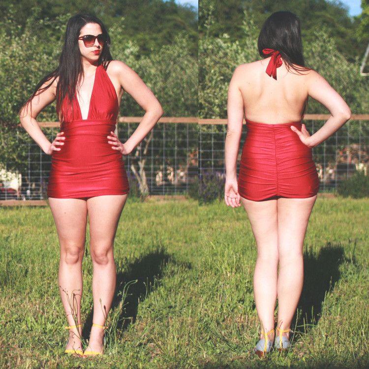 7fee35acf3ee9 Bombshell swimsuit pattern    Closet Case Patterns