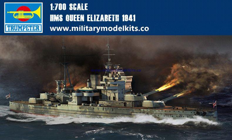 HMS Queen Elizabeth 1941 Trumpeter 05794