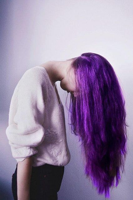 50 Shades Of Purple Let Your Color Shine Long Purple Hair