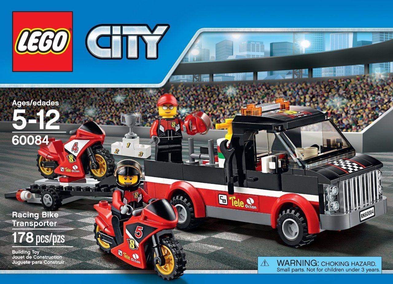 City Usa Racing Lego 60084 Transporter Toys Bike Discount OTiPkXZu