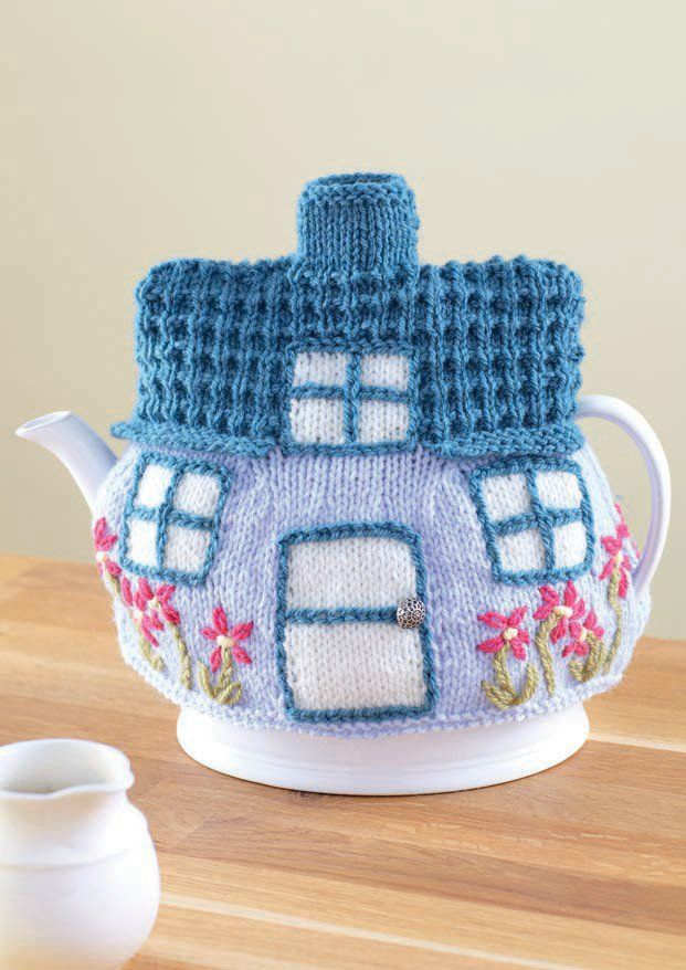 4 Tea Cosies in Sirdar Country Style DK (7221) - Digital Version ...