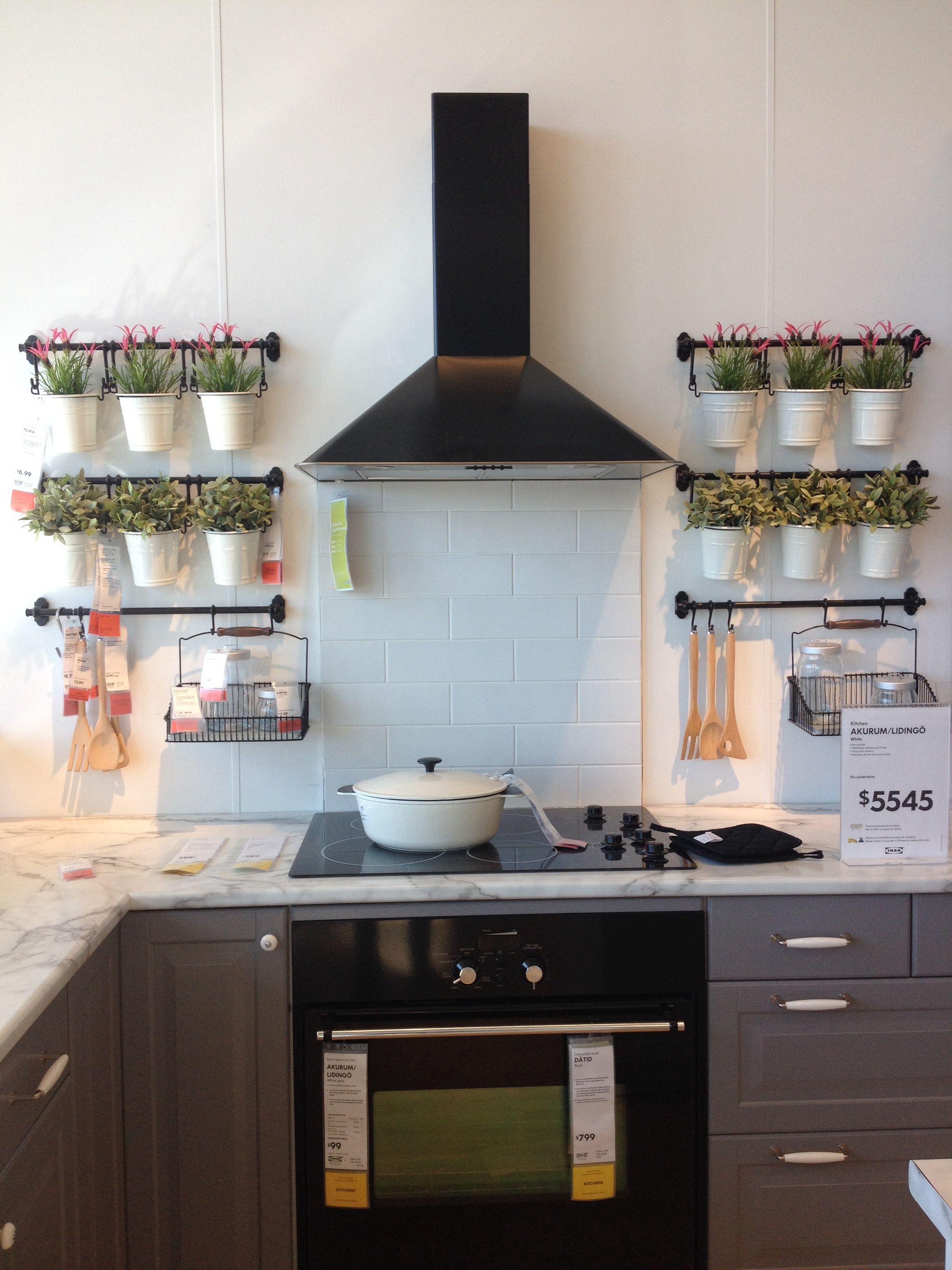 A kitchen wall herb garden? Yes, please! | One Day-Garden ...