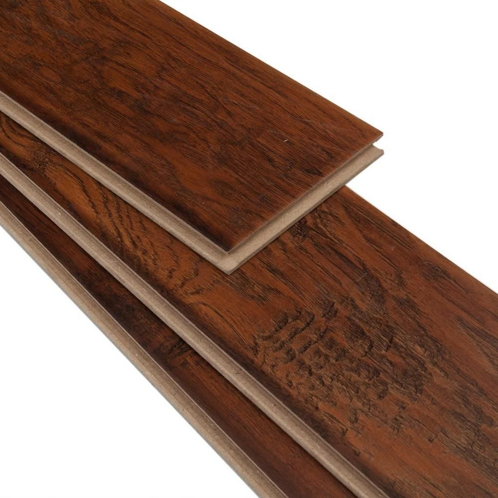 Hampstead Carolina Hickory Hand Scraped Laminate Floor Decor Laminate Flooring Laminate Colours Floor Decor