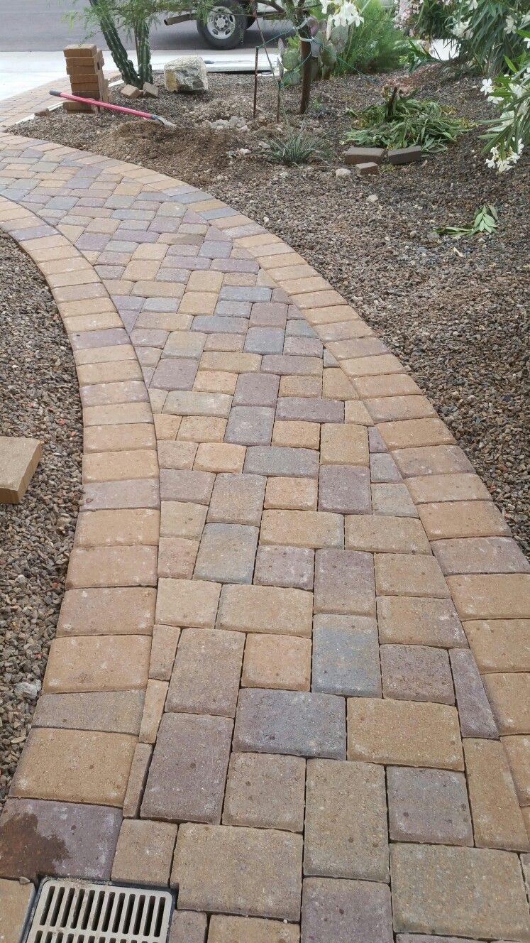 Belgard Cambridge Cobble K Pattern In A Walkway Anthem Arizona