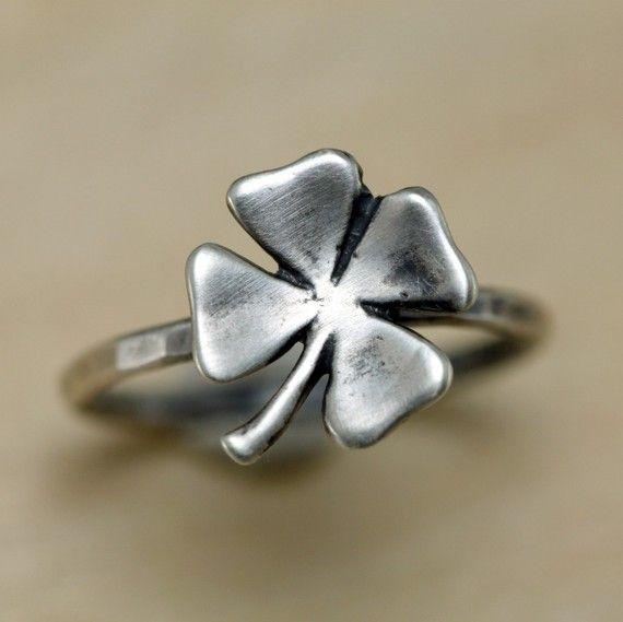 Four Leaf Clover Ring Sterling Silver by ThirtySixTen on Etsy, $39.00국빈바카라바카라베이おお ASIANKASINO おお실시간바카라온라인바카라