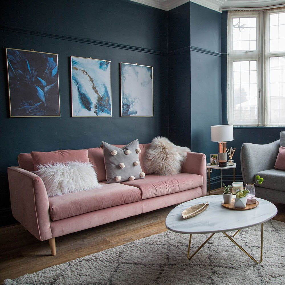 Lounge Room Furniture Ideas Blue Living Room Dark Living Rooms Pink Living Room