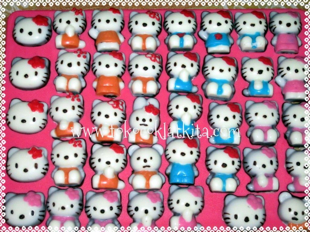 Coklat Karakter Hello Kitty Pemesanan Call SMS 0821 35 989 577