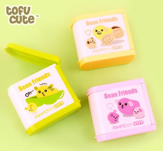 Buy Kawaii Mameshiba Bean Dog Pencil Sharpener at Tofu Cute