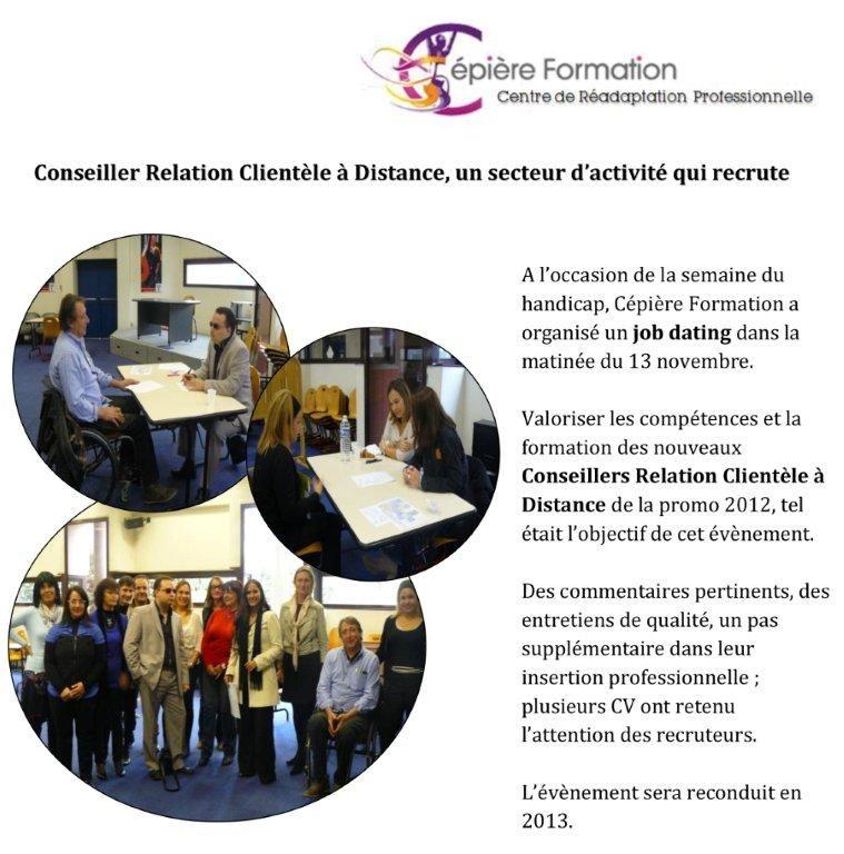 Manpower Toulouse Job Dating Cepiere Formation Participation De Sophie Jouve Attachee De Recrutement Toulouse Tertiaire Relation La Formation Recrutement