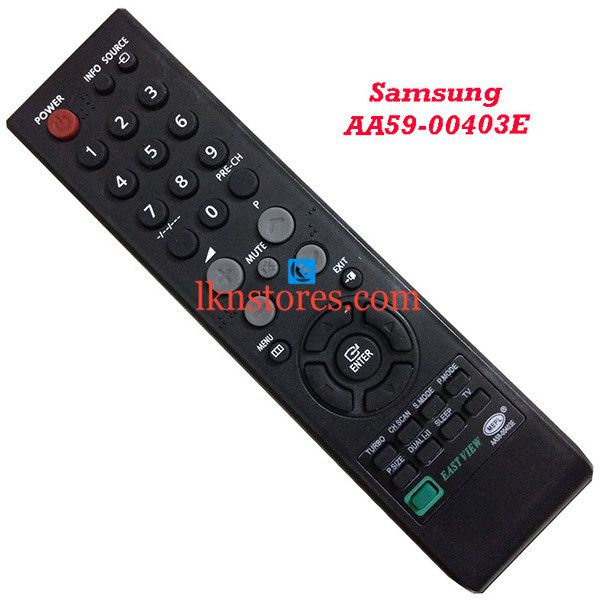 Buy remote suitable for Samsung Tv Model: AA59 00403E at lowest price at LKNstores.com. Online's Prestigious buyers store.