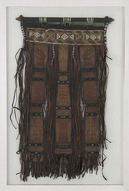 Africa | Tuareg | Leather