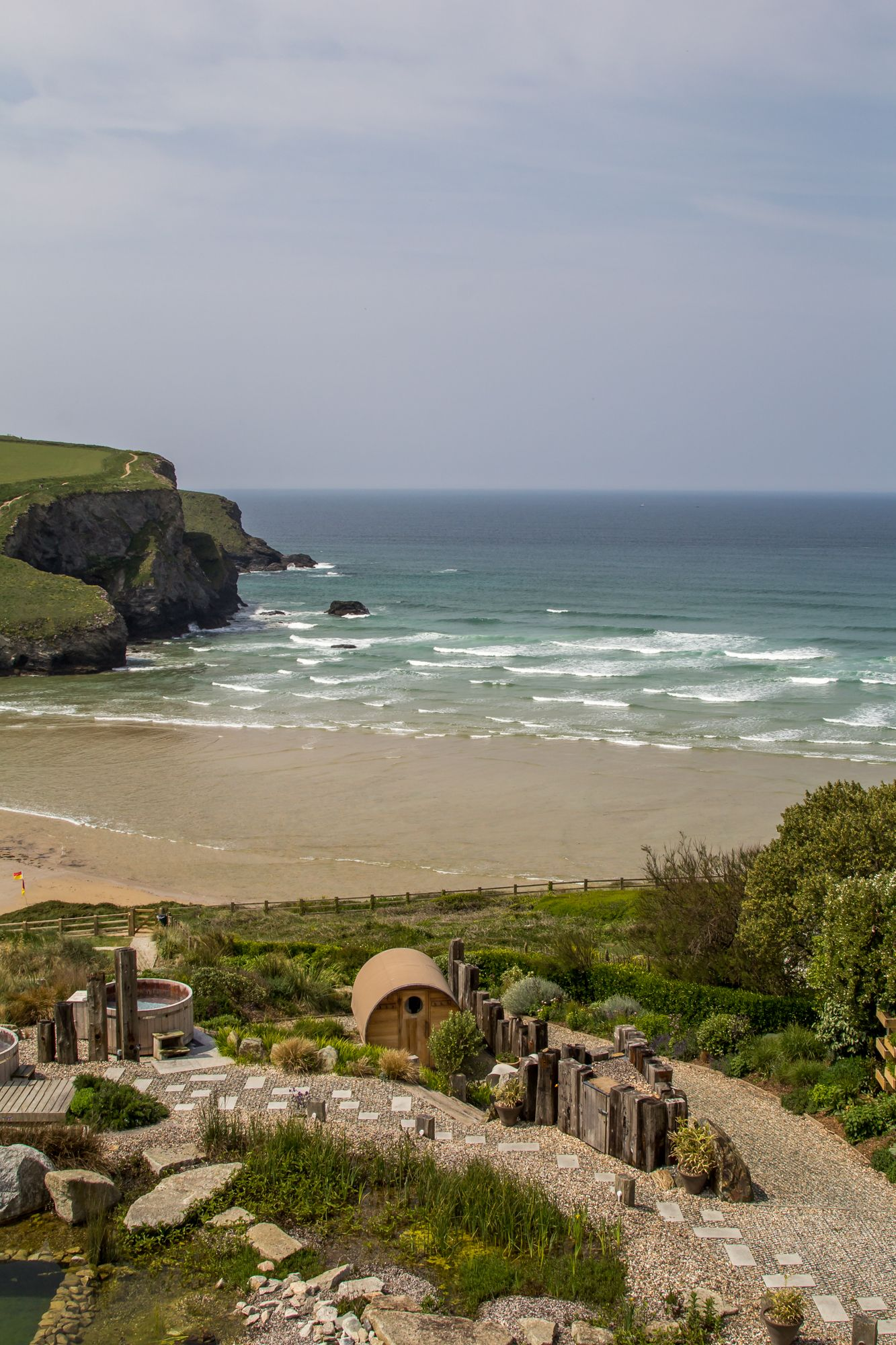 Spa Review The Scarlet Hotel And Spa Cornwall Outdoor Spa