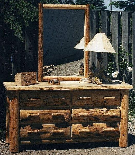 Rustic Log Furniture (Timeless Wood Care Does Not Carry This Item) We Just  LOVE IT!