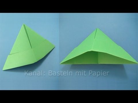 Papiermütze Falten