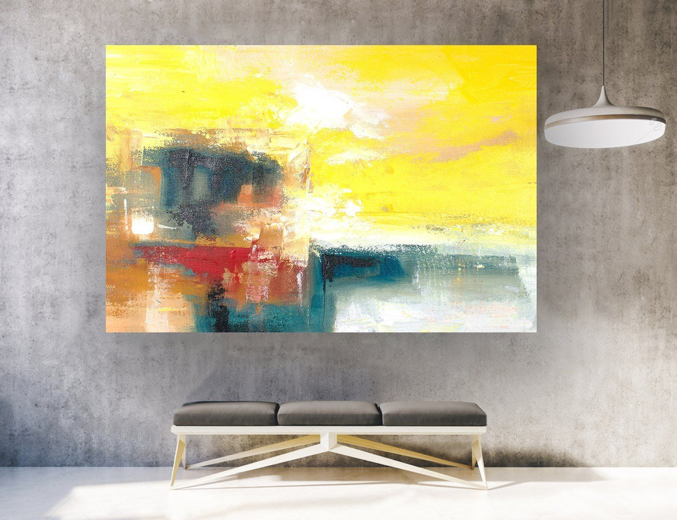 Contemporary Art,Original Painting Abstract.Large Abstract Wall Art ...