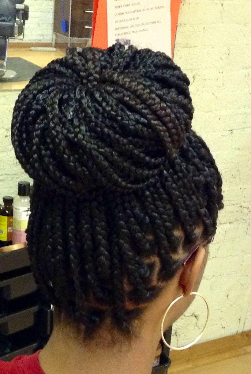 big part box braids - photo #24