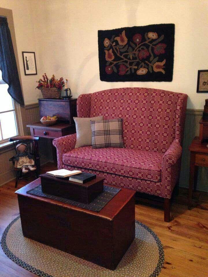Pillows Country House Decor Country Living Decor Primitive Living Room