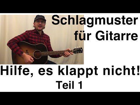 Probleme mit Schlagmuster / Rhythmus auf der Gitarre – TEIL 1 – YouTube – Uce